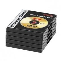 Obal na 2x DVD Hama 51294, double, 5ks/bal., černá