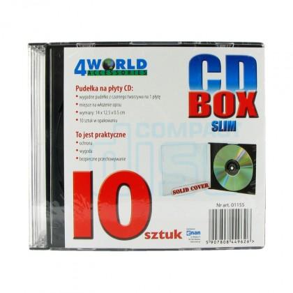 Obal na CD 10ks slim