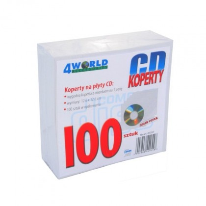 Obaly CD/DVD  Obal na CD 10ks slim CDPAP100