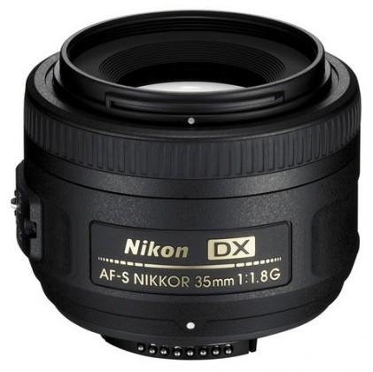Objektivy Nikon 35mm f/1.8G AF-S DX
