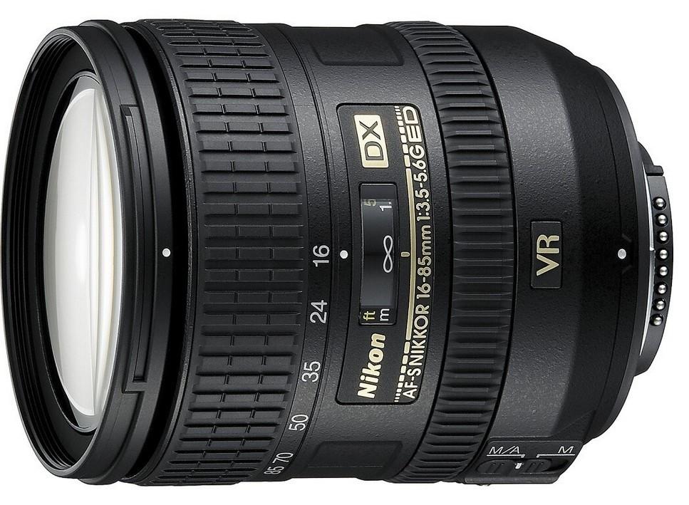 Objektívy typu zoom Nikon 16-85mm f/3.5-5.6G ED VR AF-S DX