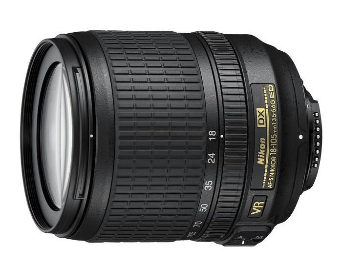 Objektívy typu zoom Nikon 18-105 mm F3.5-5.6G AF-S DX VR ED