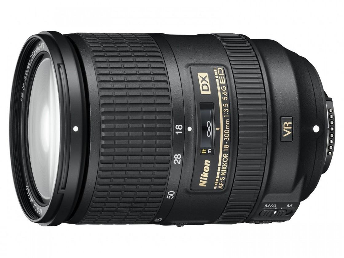 Objektívy typu zoom Nikon 18-300mm f/3.5-5.6G ED AF-S DX VR
