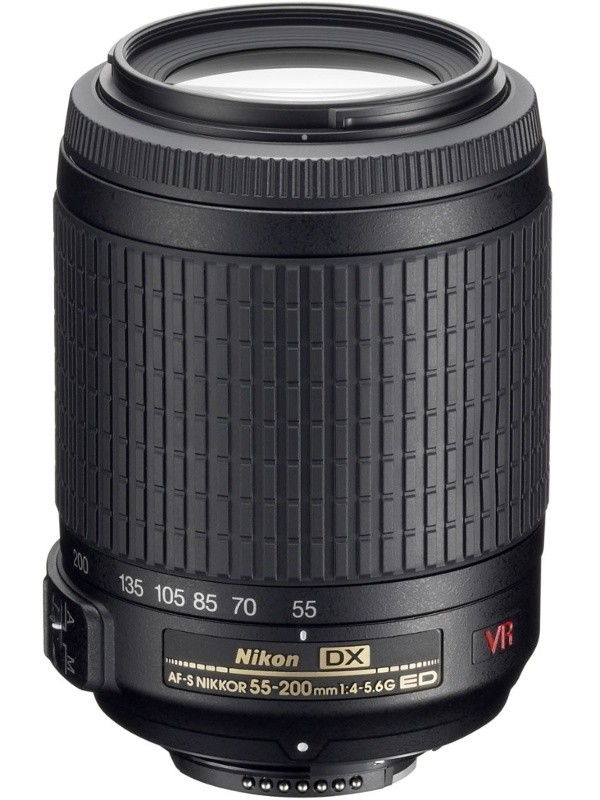 Objektívy typu zoom Nikon 55-200 mm F4-5.6 AF-S DX VR IF-ED