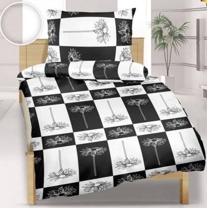 Obliečka krep 140x200 (čiernobiele čtverce)