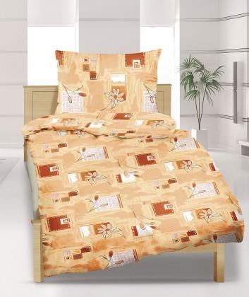 Obliečky bavlna 90/358, 140x200, 70x90 (medový sen)