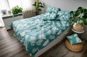Obliečky Palma green (zelená, biela)