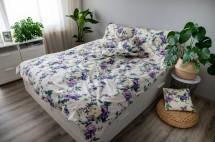 Obliečky Violeta (fialová, biela)