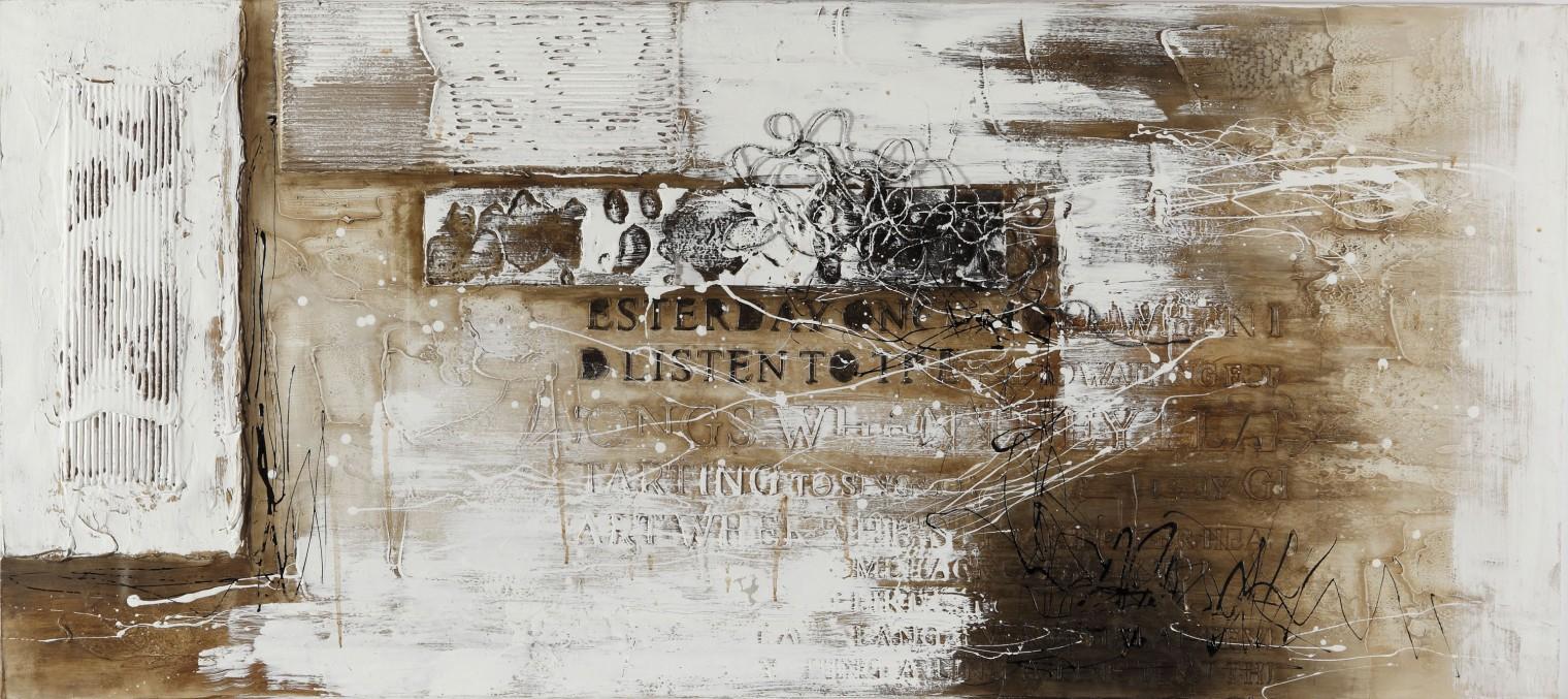 Obraz abstraktný W223, 80x180 cm