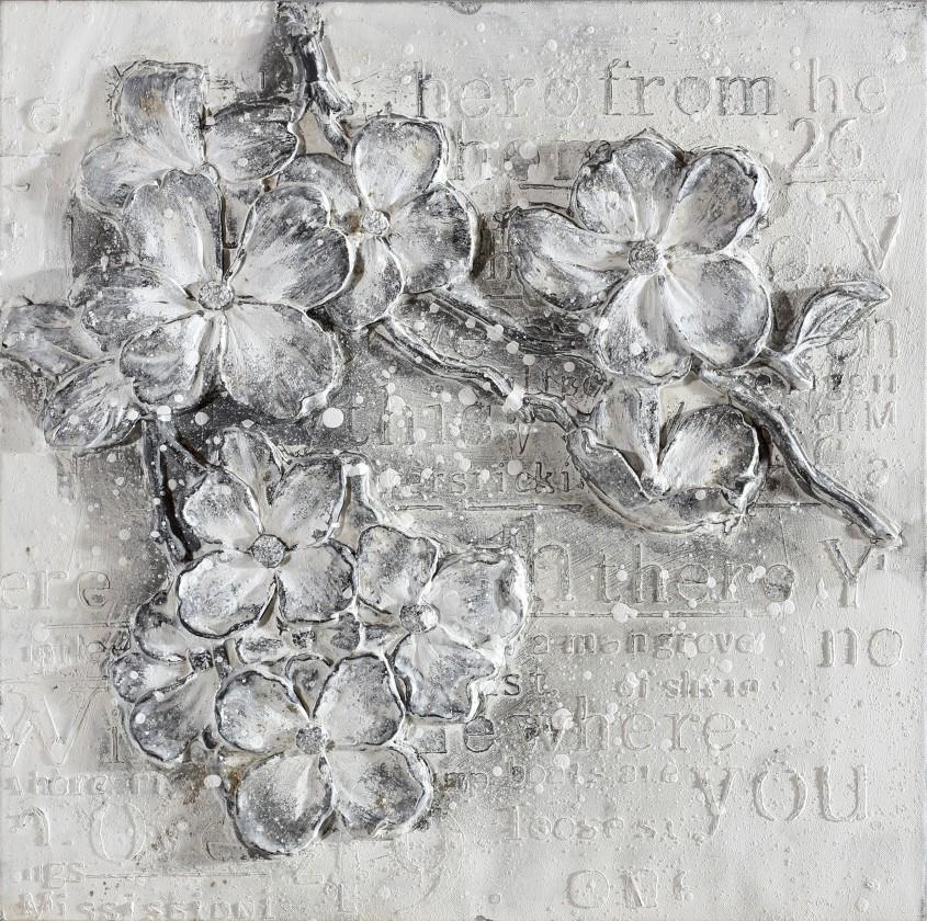 Obraz abstraktný W306, 60x60 cm
