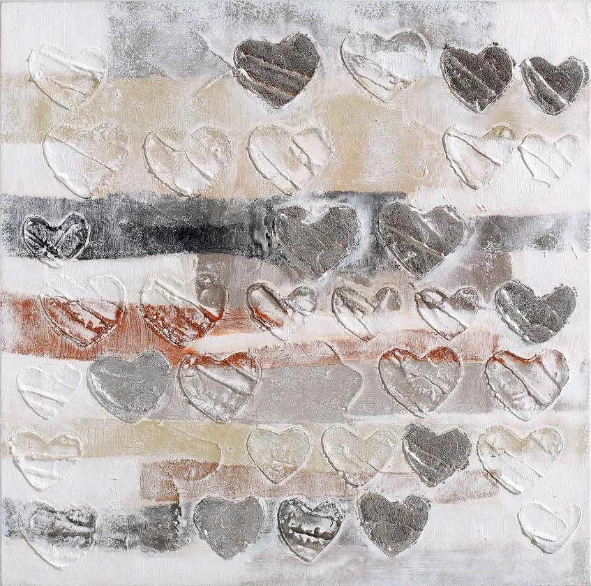 Obraz abstraktný W503, 60x60 cm