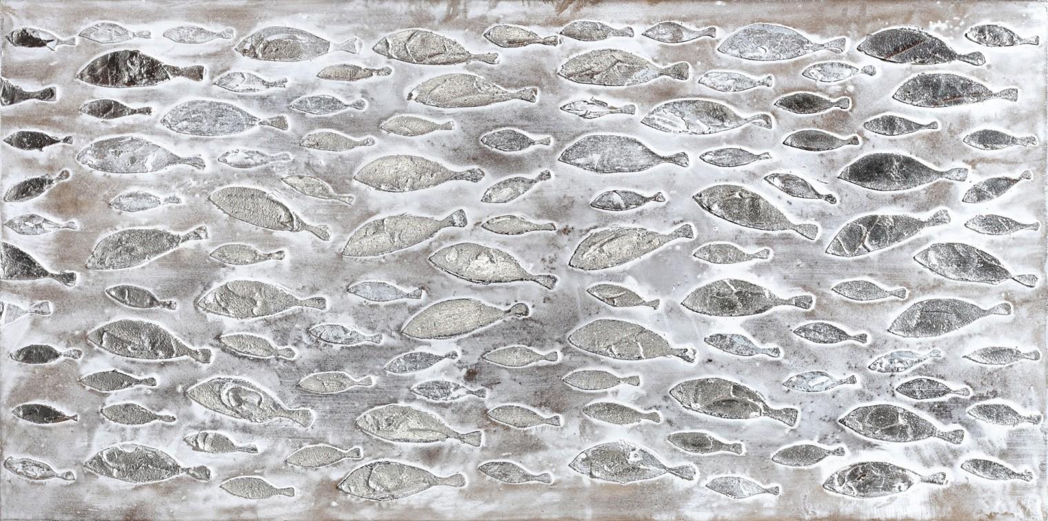 Obraz abstraktný W510, 60x120 cm