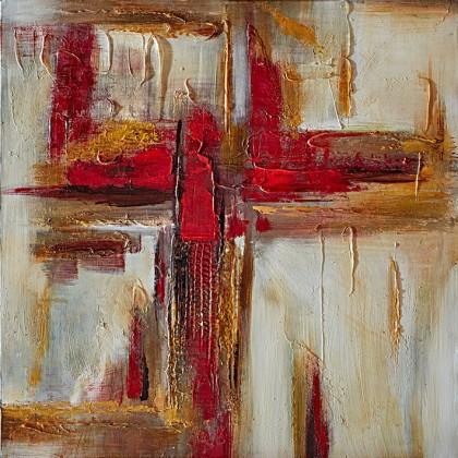 Obraz abstraktný W557, 60x60 cm
