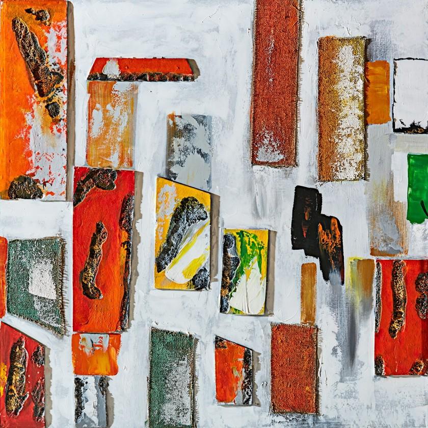 Obraz abstraktný Z362, 100x100 cm