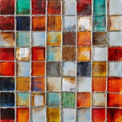 Obraz abstraktný Z364, 100x100 cm
