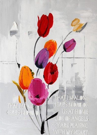 Obraz Flowers W191, 50x70 (kvety)