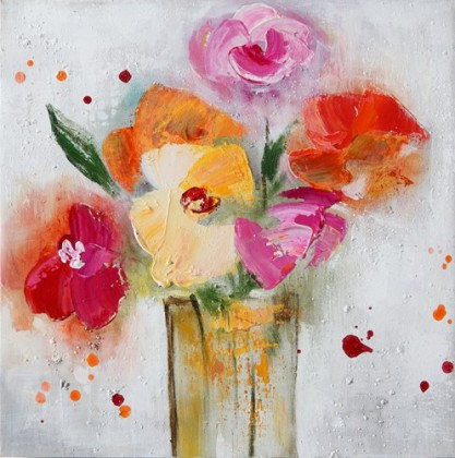Obraz Flowers W234, 30x30 (kvety)