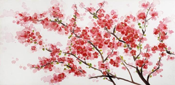 Obraz Flowers W508, 60x120 (kvety)