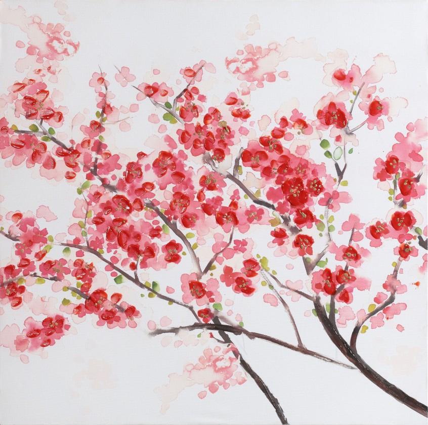 Obraz Flowers W530, 60x60 cm (kvety)