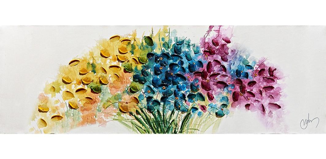 Obraz Flowers W552, 30x90 cm (kvety)