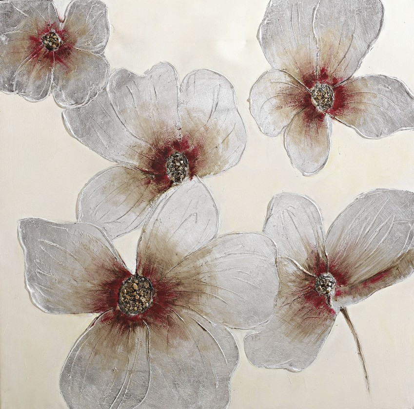 Obraz Flowers Z018, 100x100 cm (kvety)