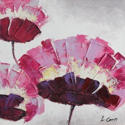 Obraz Flowers Z115, 60x60 (kvety)