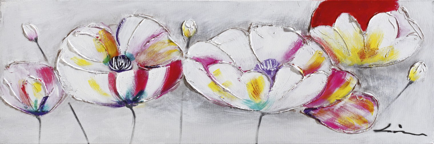 Obraz Flowers Z204, 30x90 cm (kvety)