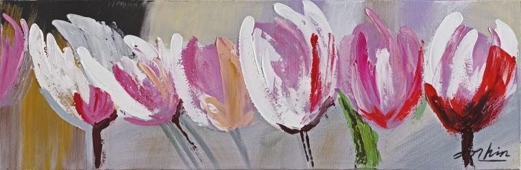 Obraz Flowers Z207, 30x90 cm (kvety)