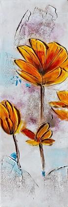 Obraz Flowers Z345, 90x30 cm (kvety)