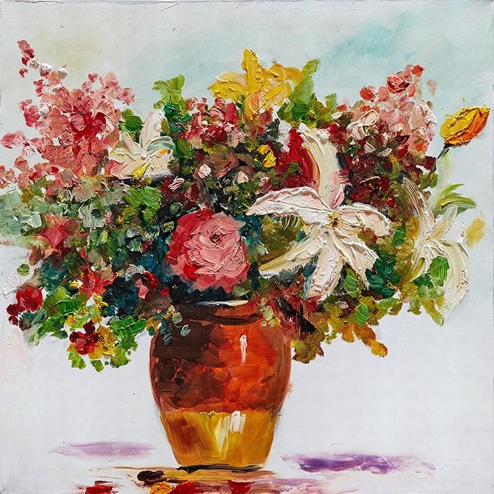 Obraz Flowers Z348, 60x60 cm (kvety)