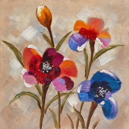 Obraz Flowers Z355, 80x80 cm (kvety)