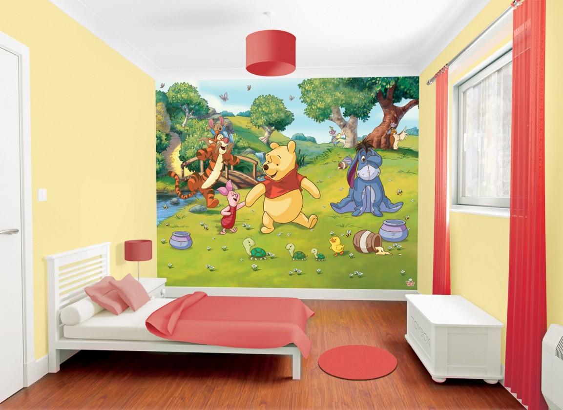 Obrazová tapeta 42100 (medvídek pů)