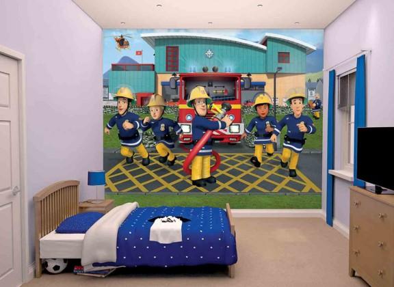 Obrazová tapeta 43770 (požiarnik sam 2)