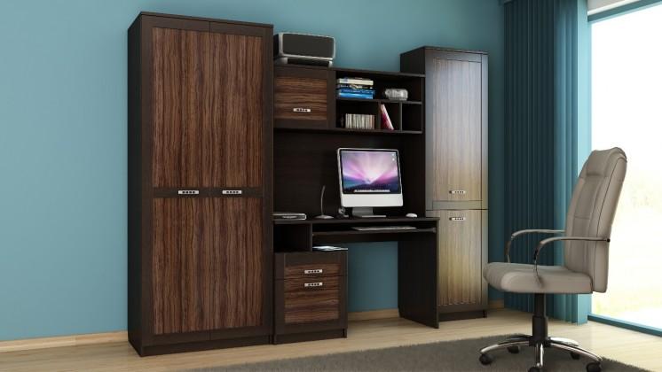 Obývacia stena Boss - Kancelárska zostava 3 (olivka/dub maggia)