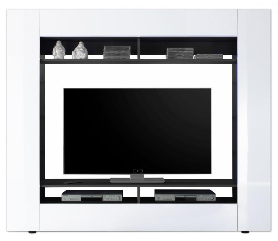 Obývacia stena Evito X3 (Antracit/biela)