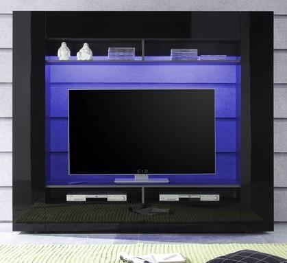 Obývacia stena Evito X3 (Antracit/čierna)