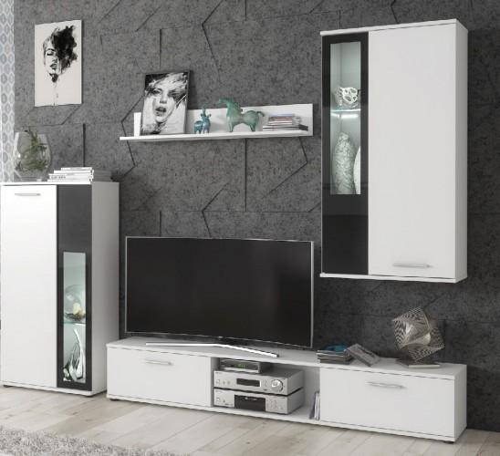 Obývacia stena Vita (biela)