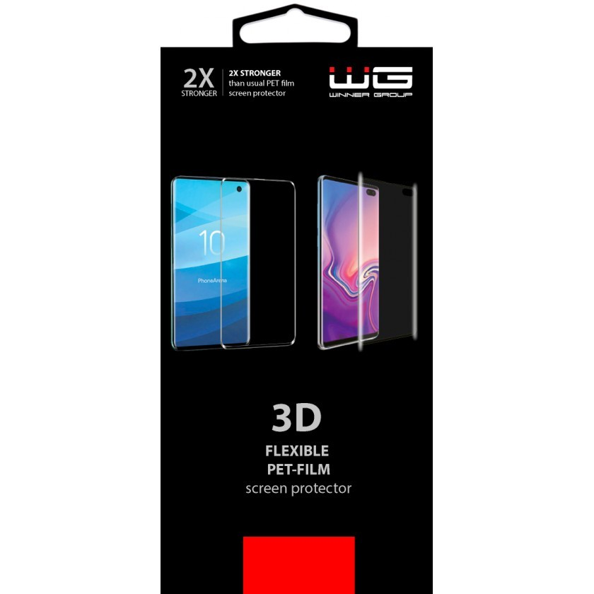 Ochranné fólie Ochranná fólia pre Samsung Galaxy S10 s aplikátorom