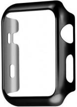 Ochranný kryt pre Apple Watch 4/5/6 44mm, polykarbonát, čierna