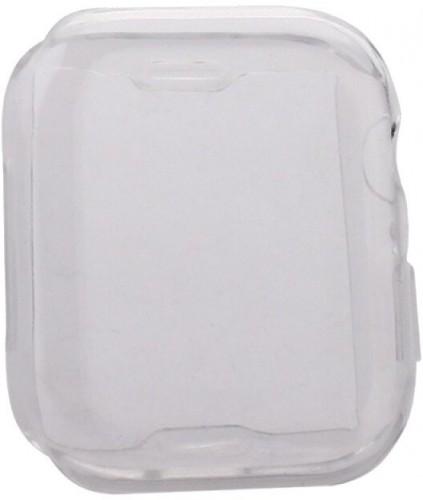 Ochranný kryt pre Apple Watch 4/5/6 44mm, termoplast, priehľadná