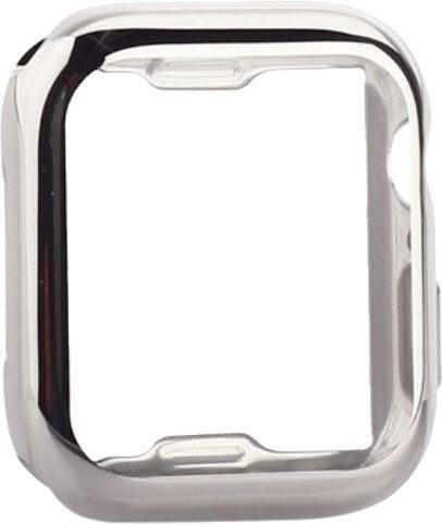 Ochranný kryt pre Apple Watch 4/5/6 44mm, termoplast, strieborná