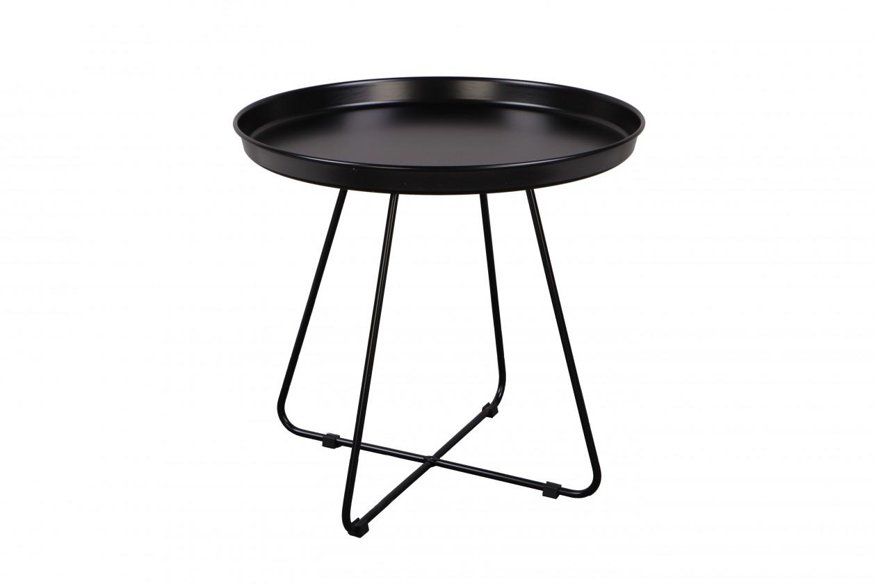 Odkladací stolík Konferenčný stolík Pogorze - L (čierny)