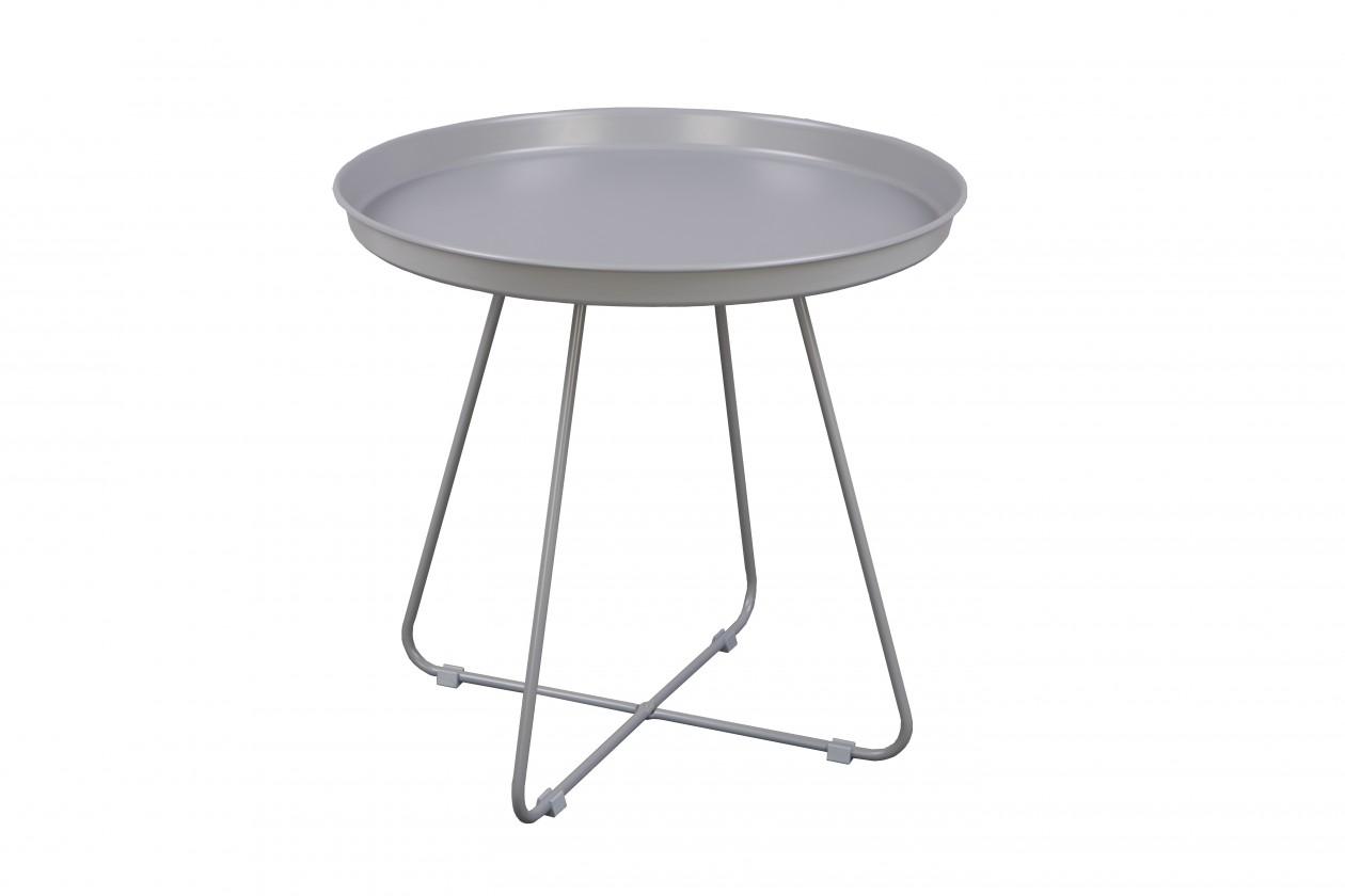 Odkladací stolík Konferenčný stolík Pogorze - L (sivý)