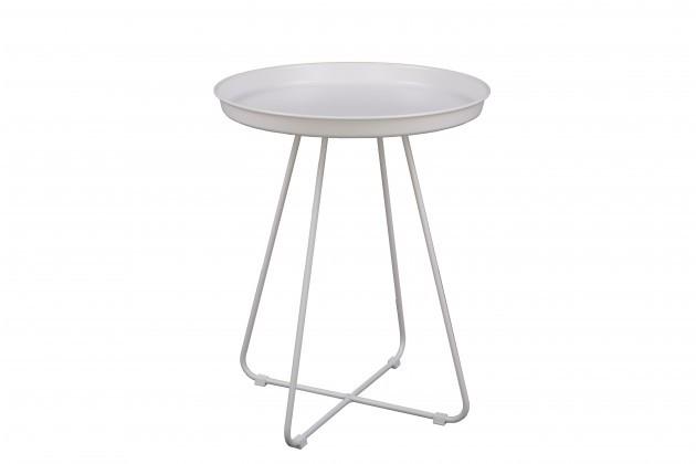 Odkladací stolík Konferenčný stolík Pogorze - M (biely)