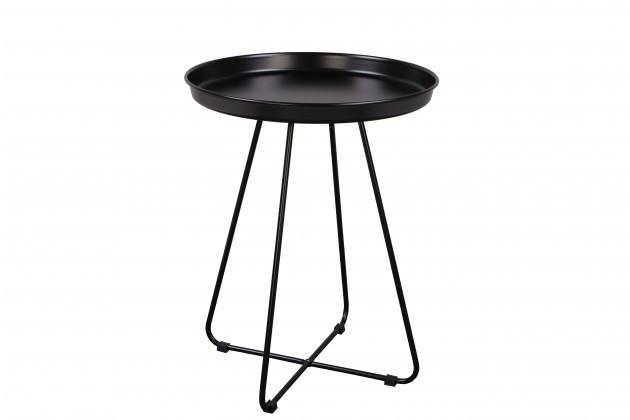 Odkladací stolík Konferenčný stolík Pogorze - M (čierny)