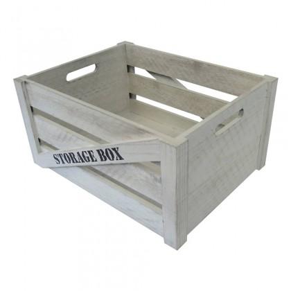 Odkladacie boxy Drevený box KR05