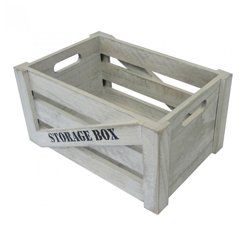 Odkladacie boxy Drevený box KR08