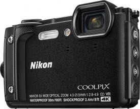 Odolný fotoaparát Nikon Coolpix W300, čierna
