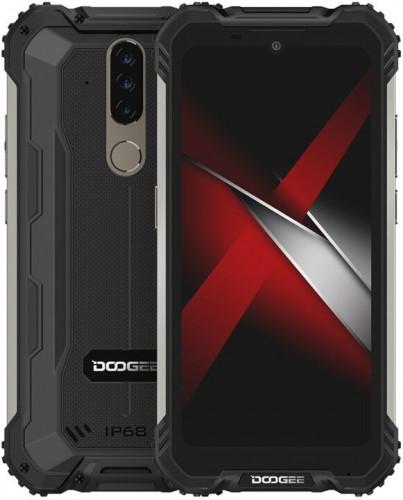Odolný mobilný telefón Doogee S58 PRO 6GB/64GB, čierna