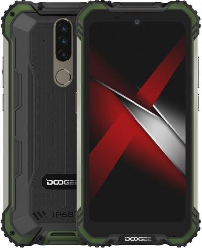 Odolný mobilný telefón Doogee S58 PRO 6GB/64GB, zelená